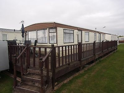 6 birth static caravan for rent / hire at Millfield ingoldmells Skegness. 2017