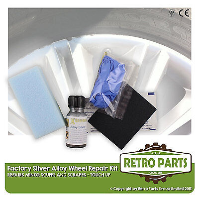 Silver Alloy Wheel Repair Kit for Ford Activa. Minor Stuff Damage Marks