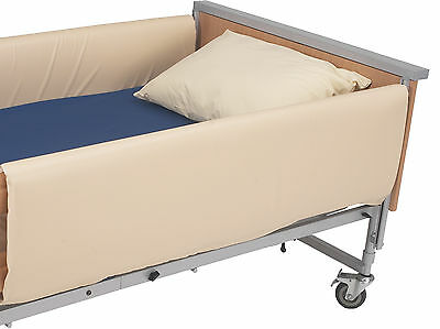 Drive Medical Extra High Cot Side Bumpers for 4 Bar Rails fits 49.1 x 144cm
