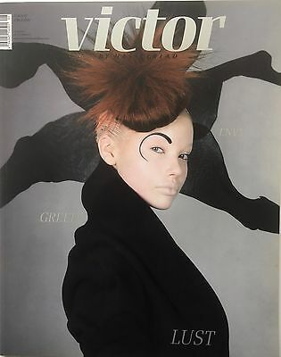 VICTOR by HASSELBLAD Fashion Photography Magazine nr.1 2007 Greed Lust- Large A3