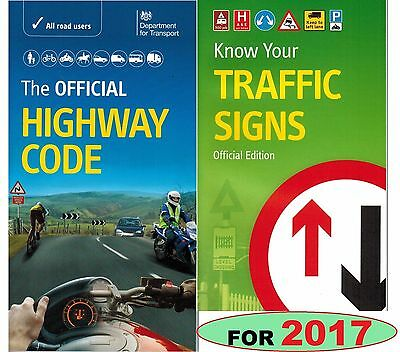 THE OFFICIAL HIGHWAY CODE & KNOW YOUR TRAFFIC SIGNS LATEST EDITION 2017 hwTrf