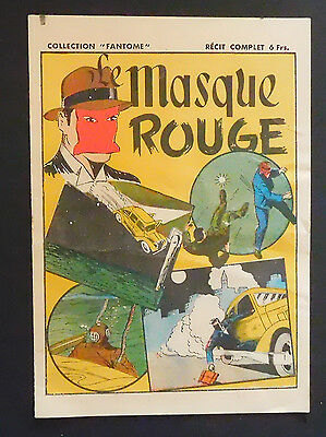 récit complet THE CLOCK  - Masque Rouge Collection Fantome - 1946