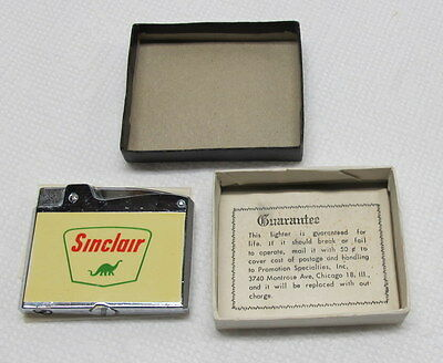 Sinclair Oil Cigarette Lighter Unused Vintage Japan Dino the Dinosaur New in Box