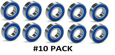 10-PACK 1616-2RS C3 Premium Ball Bearing ZSKL