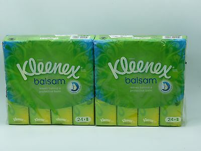 48x Kleenex Balsam Pocket Tissues 2x 24 pack  P:16.831
