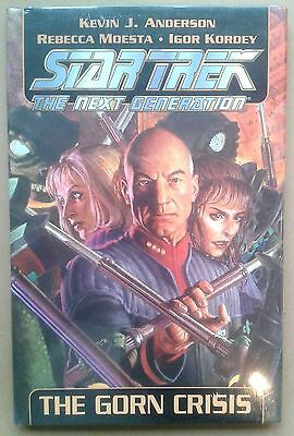 STAR TREK The Next Generation - THE GORN CRISIS - HARDBACK GRAPHIC NOVEL
