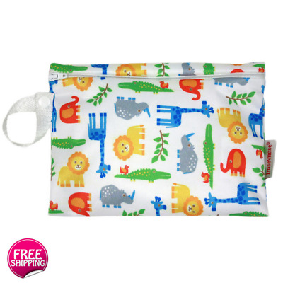 Washable Wet Bag with Zipper (15 x 20 cm) Great for Storing Kids Toys