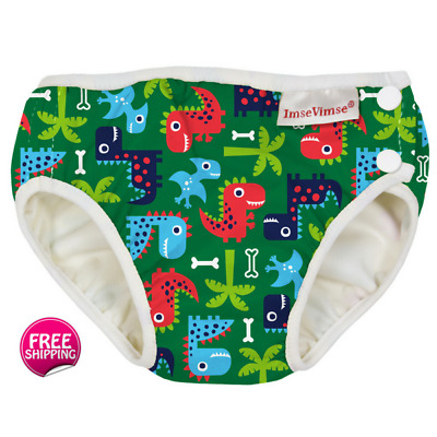 Popular Green Dino Swim Nappy for Baby & Toddler (6 x Sizes)