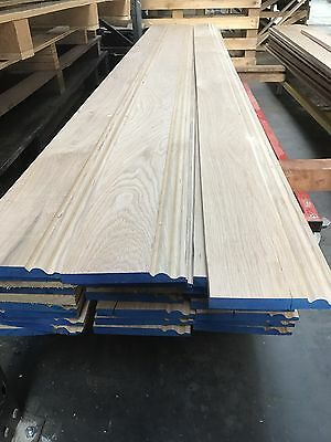 Solid Oak Skirting Board 170mm - OGEE profile - Long Lengths A grade Oak *****