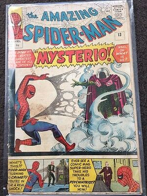 The Amazing Spider-Man #13 - Good (2.0) - 1st Mysterio