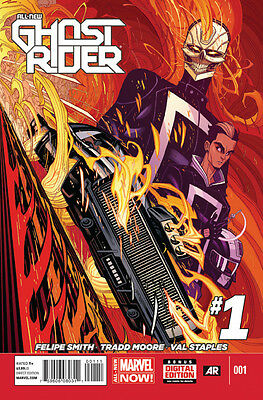 All-New Ghost Rider #1 (1st Print Regular Cover) 2014 Series Marvel NOW!