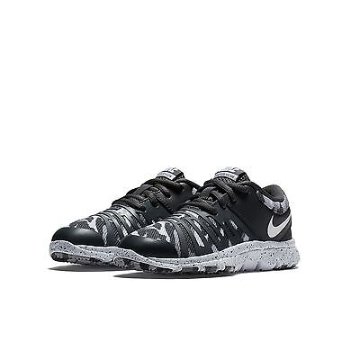 77712e5770521 BIG KIDS  NIKE Flex Show TR 5 RW Training Shoes NEW Black   Grey ...