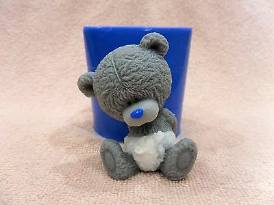 """""""Baby Teddy Bear 2"""" silicone mold for soap candles making mould"""