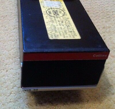 "Collins Vir-30A Nav Receiver ""excellent"" ""faa Overhaul"" ""below Cost"" ""look"" !!!"