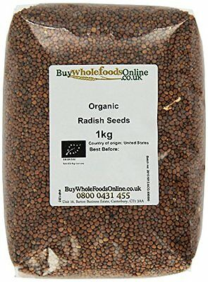 Buy Whole Foods Organic Radish Seed 1 Kg