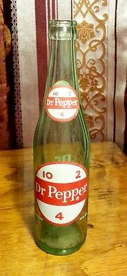 Vintage Dr. Pepper Soda ACL Bottle 10 2 4 10 Oz Great Condition