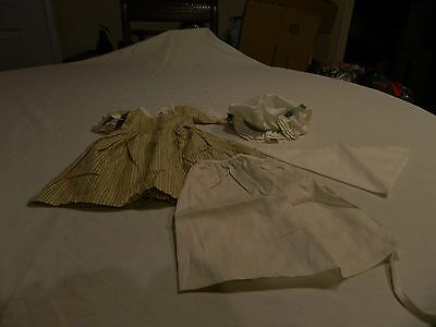 American Girl Pleasant Company 1994 Felicity Work Gown Outfit - Complete Retired