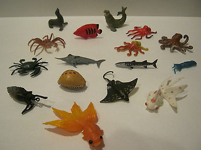 Mixed lot of Marine Creatures - Safari Ltd. and other Makers...Loose...