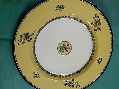 Spode Albany Salad Plate S3670 blue white yellow 7.75""