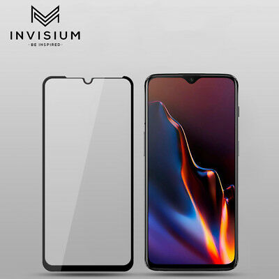 INVISIUM Full Coverage Tempered Glass Screen Protector for OnePlus 6T, 6, 5, 5T