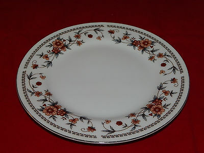 """Vntage Sheffield Fine China Saucer 6.25"""" Plate Anniversary Pattern Made in Japan"""