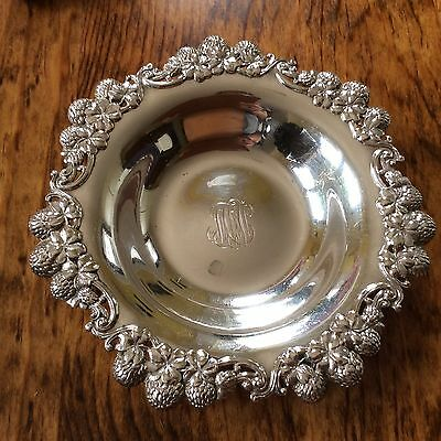 Antique Tiffany & Co Sterling Silver Bowl Clover Pattern Reticulated dish c.1899