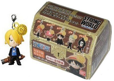 One Piece Film Strong World Sanji Mascot Charm Keychain (Bandai)
