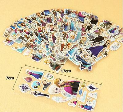 6pc Animation 3D Stereoscopic puffy cartoon stickers  lot of children's gift