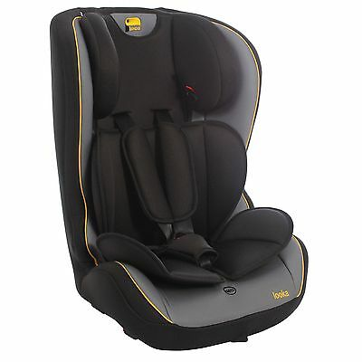Toco Looka Group 1/2/3 Baby / Child / Kids Car Seat In Black / Grey