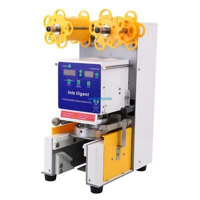 Full Automatic Bubble Tea Cup Sealing machine Fruit Juice Cup Sealer