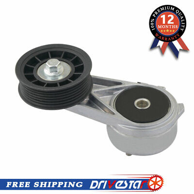 DRIVESTAR OE-Quality Belt Tensioner with Pulley for 1994-2004 Ford Mustang Cougar Mercury Thunderbird 3.8L