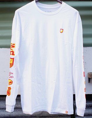 S&m Long Sleeve History Tee White