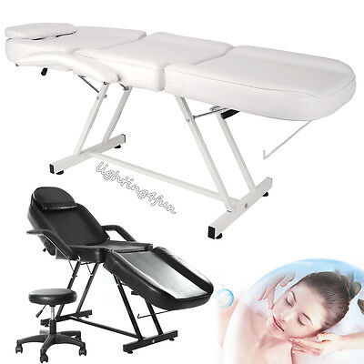 Balance Massage Table Bed Beauty Salon Chair Facial Treatment Tattoo Couch+Stool