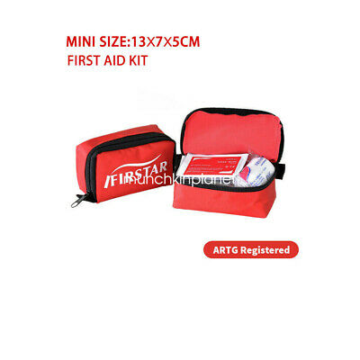 First Aid Kit Bag Home Small Emergency Medical Survival Rescue Bag ARTG Register