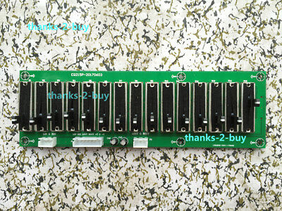 Stereo 15 Band EQ Equalizer Preamp Board 2.0 Channel Adjustable Audio Tone Board