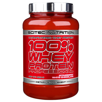 Scitec Nutrition 100% Whey Protein Professional - 920g  [Sabor: Platano]