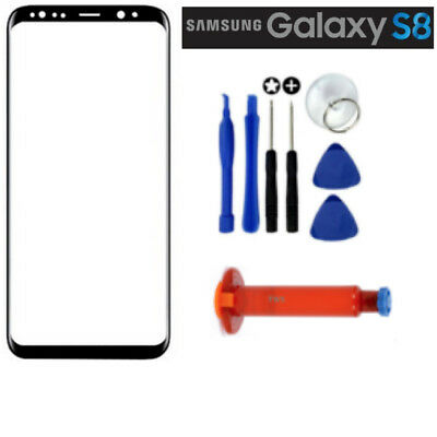 Outer Front Glass Screen Replacement For Samsung Galaxy S8 inc Free tools & LOCA