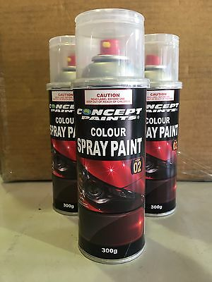 Touch Up Colour In A Can Aerosol, Automotive Paint, Touch Up Spraycan, 300g