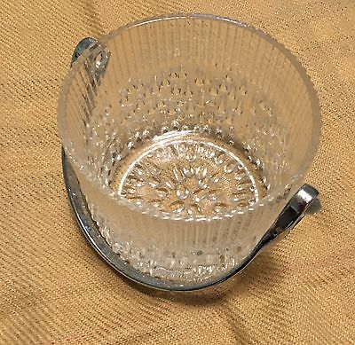Vintage Teleflora Cut Glass Small Ice Bucket