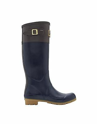 Joules Cavendish Winter Equestrian Stable Yard Waterproof Top Panelled Welly