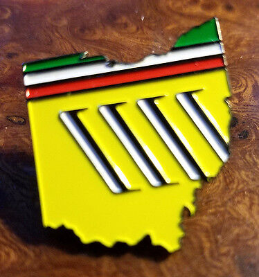 FERRARI Club of America 2016 Columbus Annual Meet Lapel Pin 275