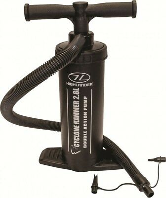 Highlander Cyclone Hammer Pump Double Action - Black - 2.8L - Camping