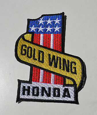 Goldwing,GL 1800,No.1,GL1500,Patch,Aufnäher,Aufbügler,Biker,Cruiser,Badge,USA