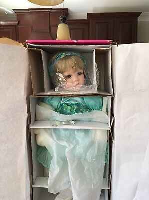 MARIE OSMOND BABY CONNIE PORCELAIN BABY DOLL  533/550 New #41