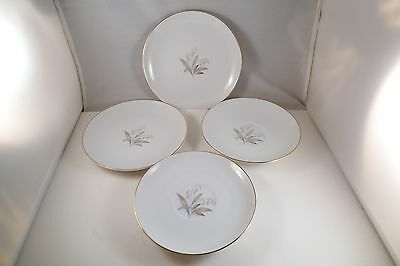 Vintage Kaysons Fine China Golden Rhapsody Japan Pair of Saucers & Bread Plates