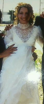 Vintage 70s Wedding Dress Size 0 Wichita Ks