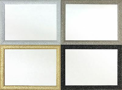 STARDUST' Photo/Picture Frame - Various sizes Black Silver Gold Gunmetal Colours