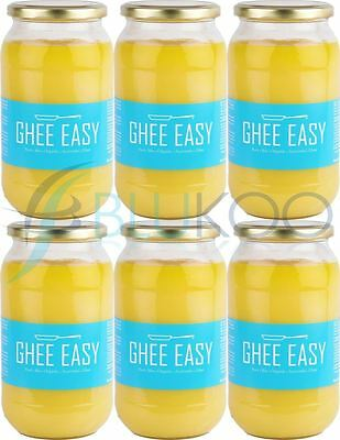Ghee Easy Organic Ghee - 850g (Pack of 6)