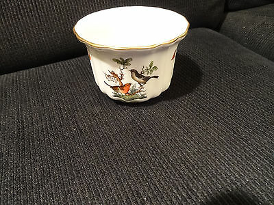 Herend Bird & Butterfly Motif Bowl, Excellent Condition
