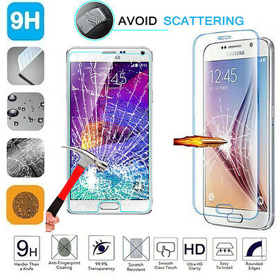 100% Genuine Gorilla Tempered Glass Film Screen Protector For Samsung